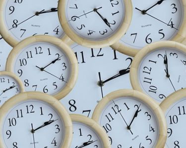 Time Header Deadline Watch Minute Clock Number